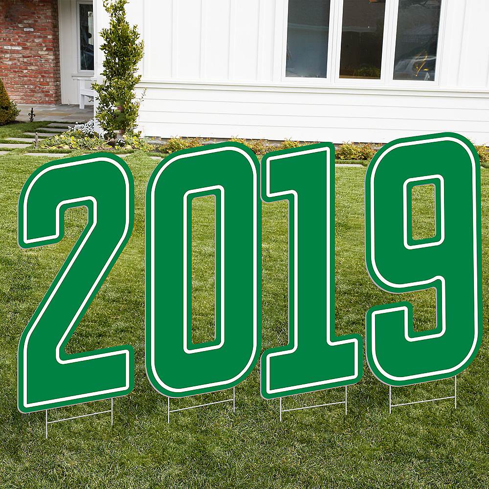 Giant Green 2019 Number Outdoor Sign Kit Image #1