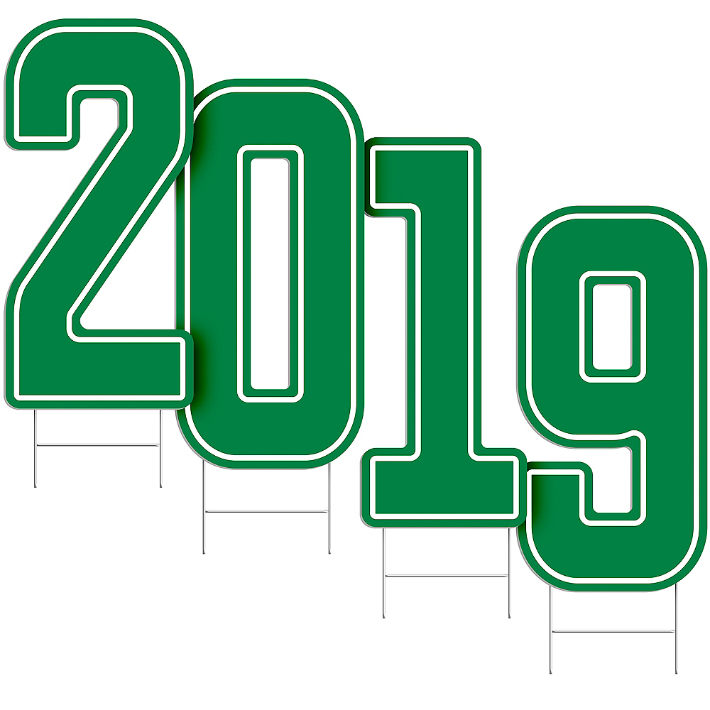 Giant Green 2019 Number Outdoor Sign Kit Image #2