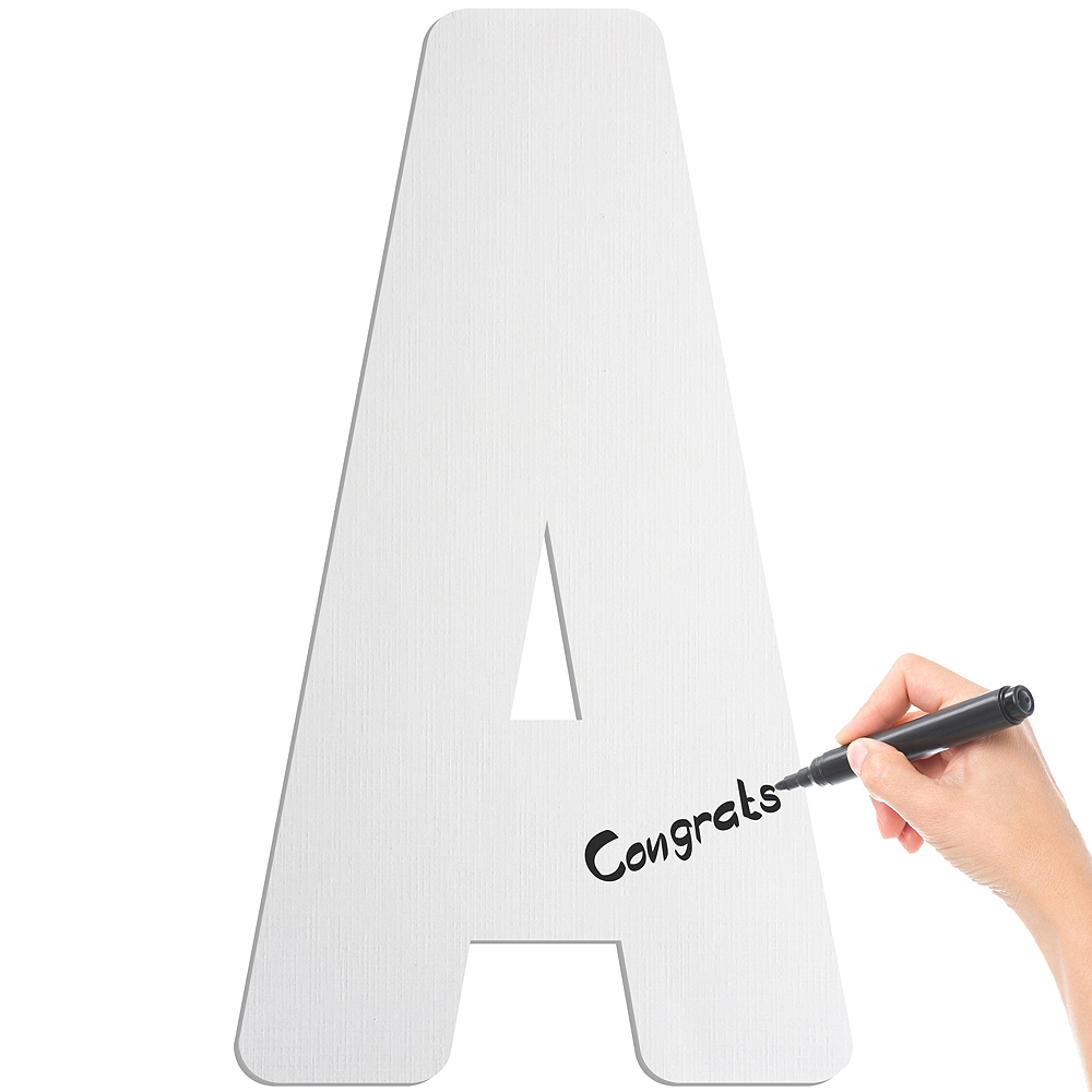Giant A Letter Cardboard Cutout Image #2