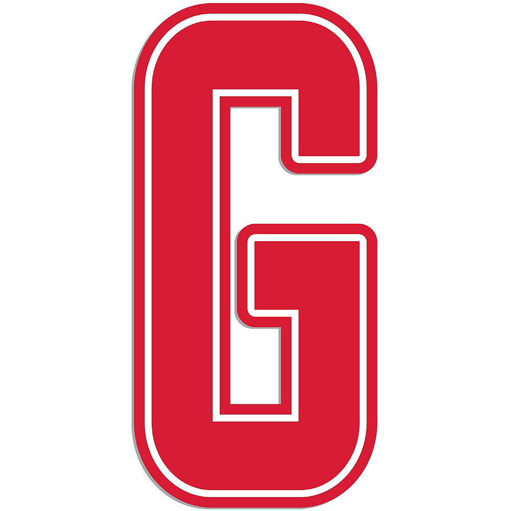 Nav Item for Giant Red G Letter Outdoor Sign Image #1