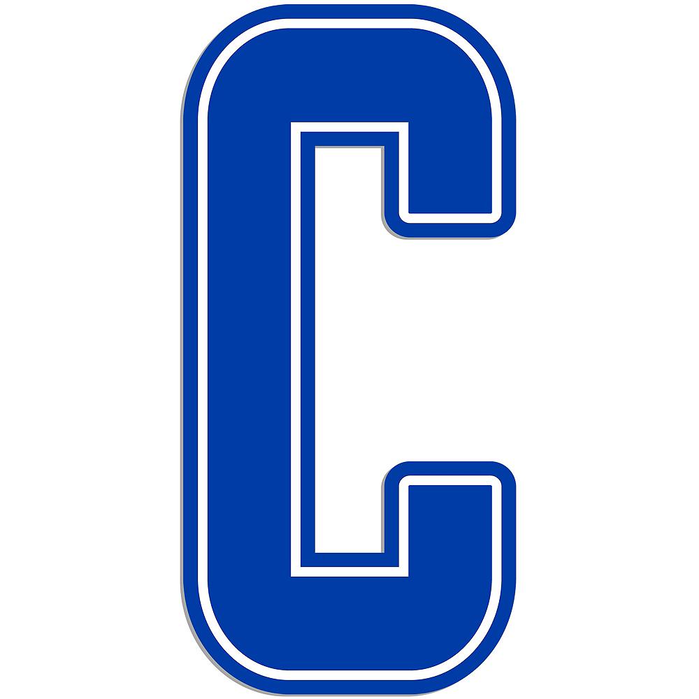 Giant Royal Blue C Letter Outdoor Sign Image #1