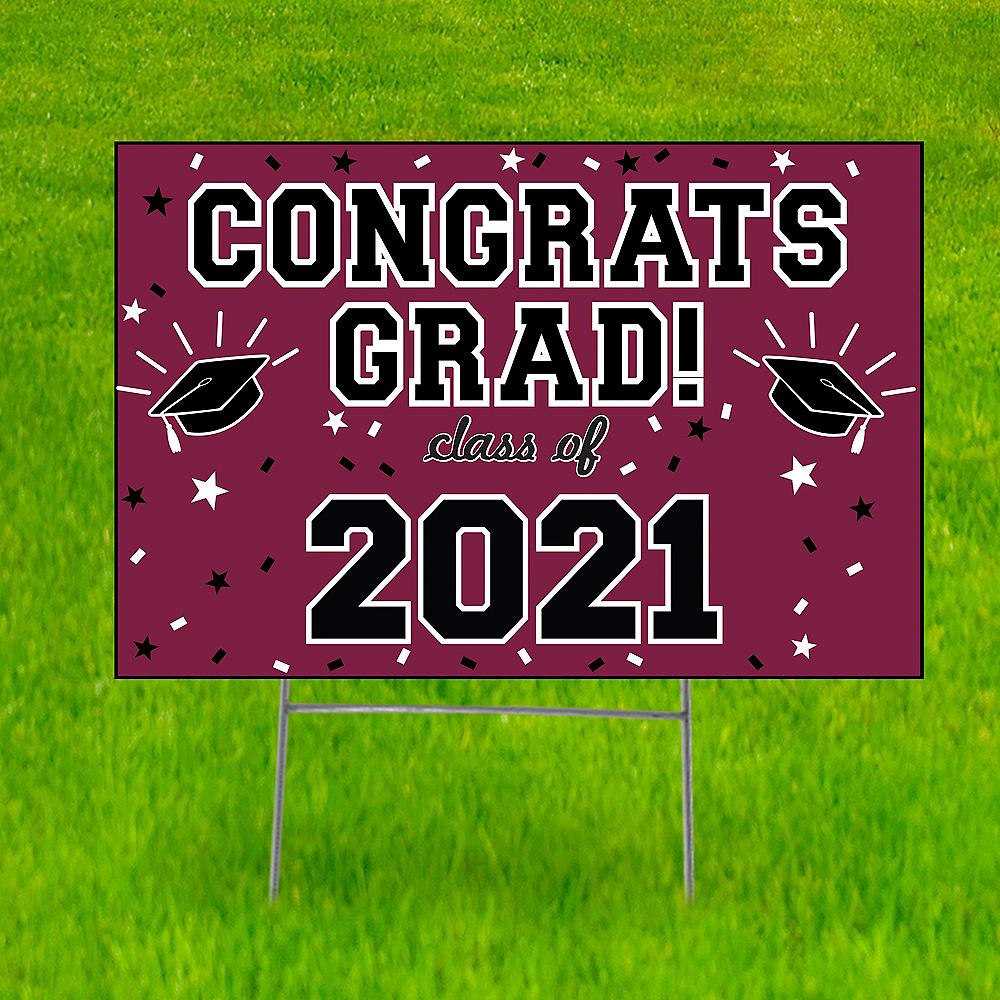Berry Graduation Yard Sign Image #1