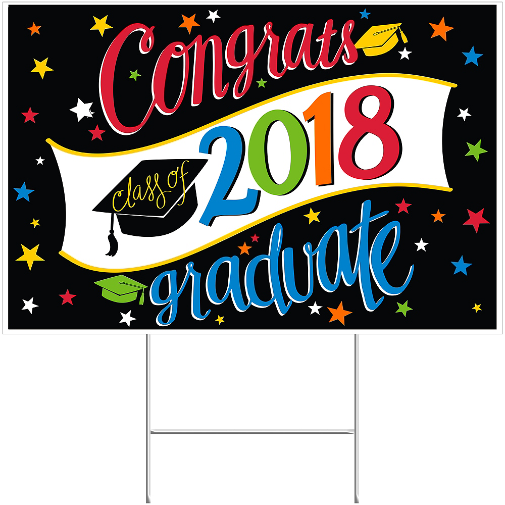 Going Places Graduation Yard Sign Image #1