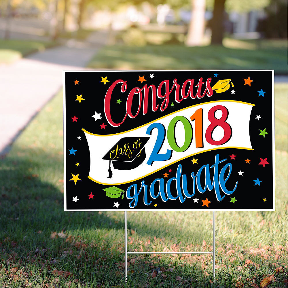 Going Places Graduation Yard Sign Image #2