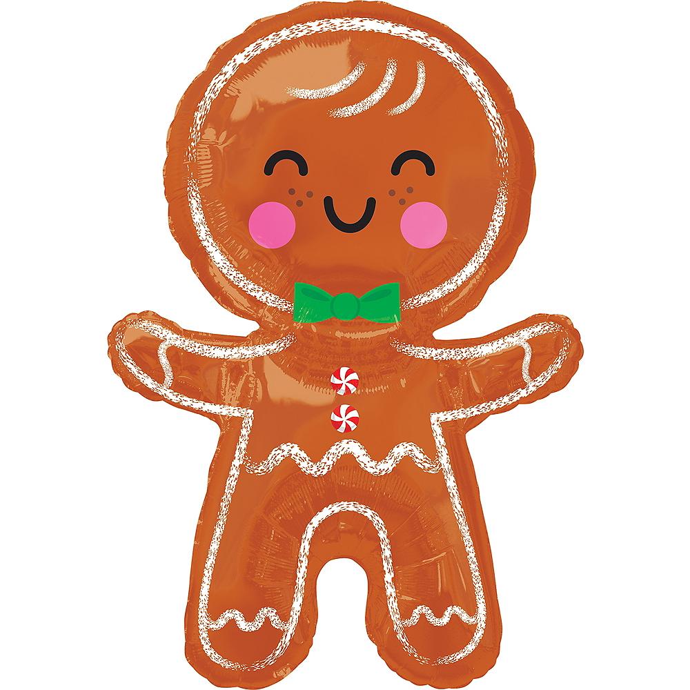 Giant Gingerbread Man Balloon Image #1