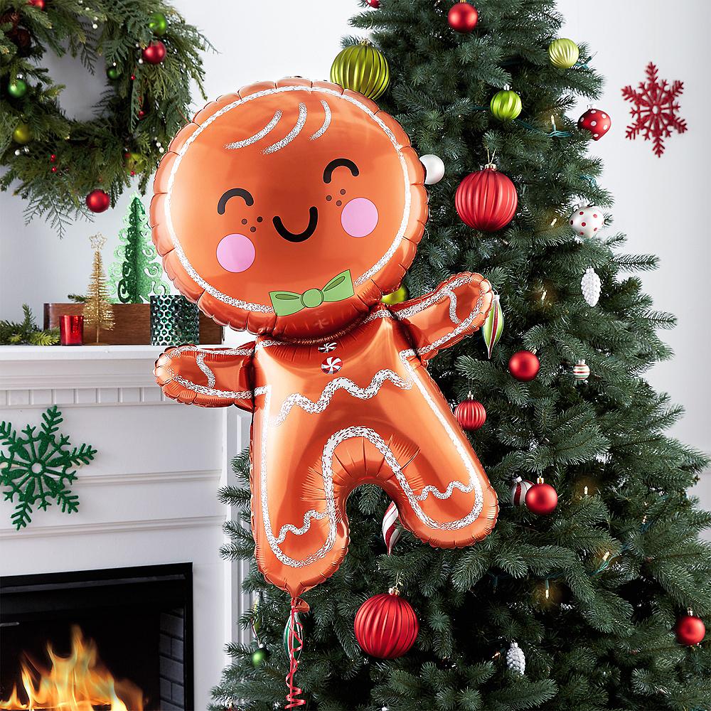 Giant Gingerbread Man Balloon Image #2