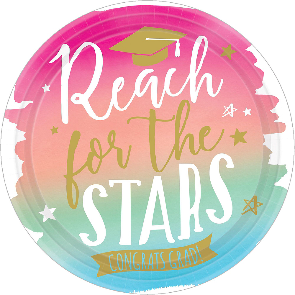 Deluxe Reach For The Stars Grad Party Kit for 36 Guests Image #2