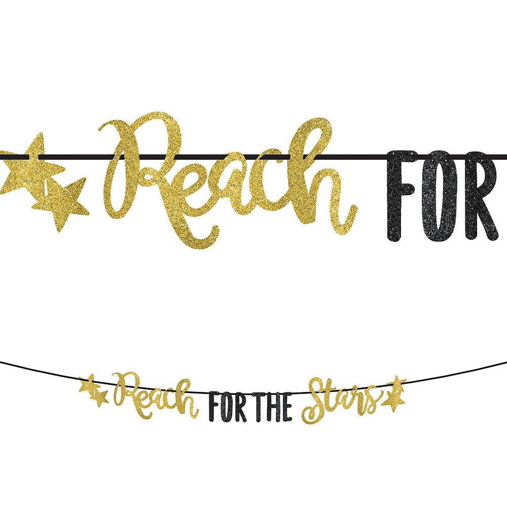 Deluxe Reach For The Stars Grad Party Kit for 36 Guests Image #5