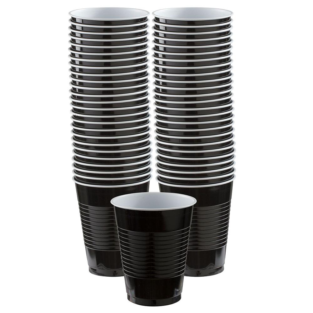 Congrats Grad Orange Graduation Tableware Kit for 18 Guests Image #6