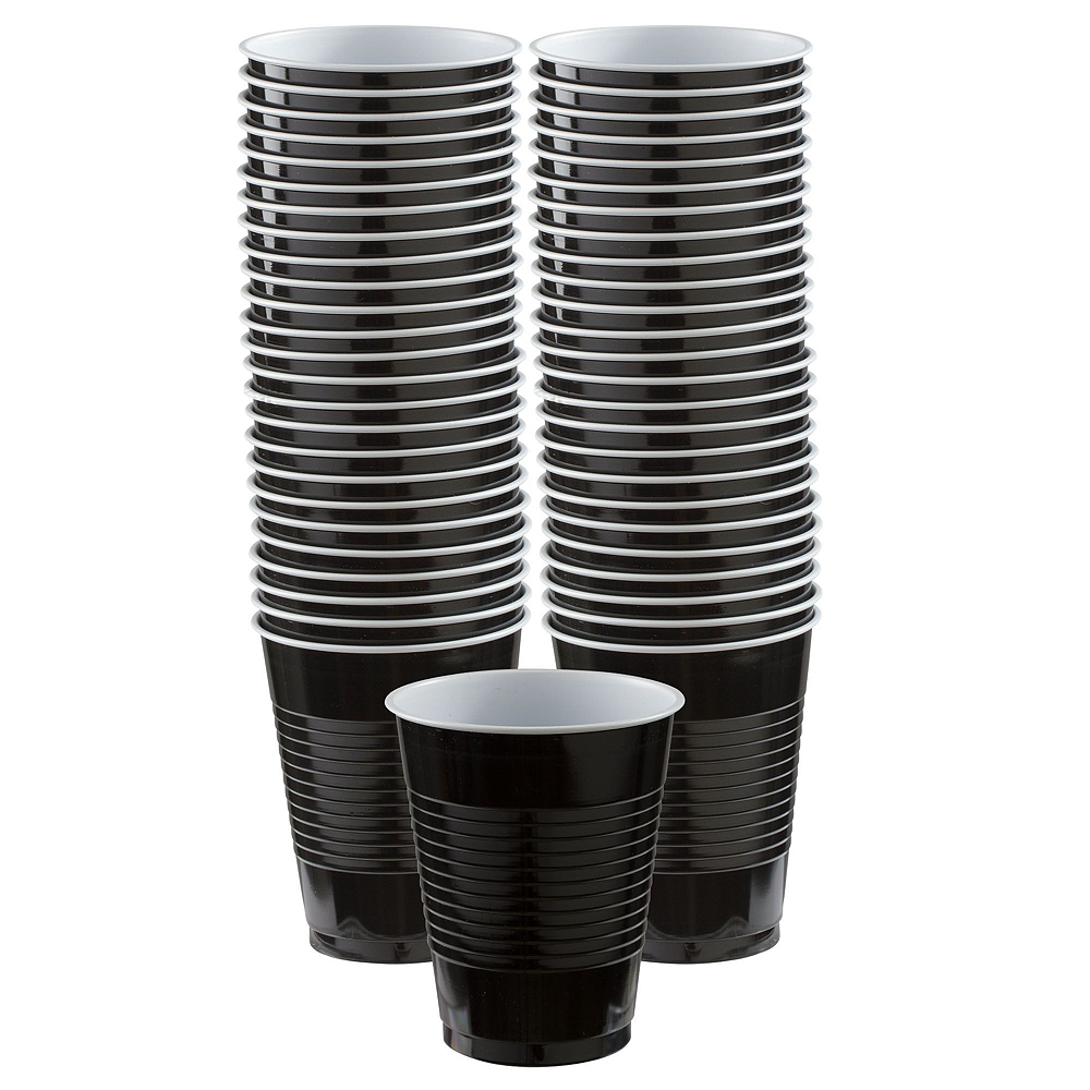 Nav Item for Congrats Grad Orange Graduation Party Kit for 36 Guests Image #6