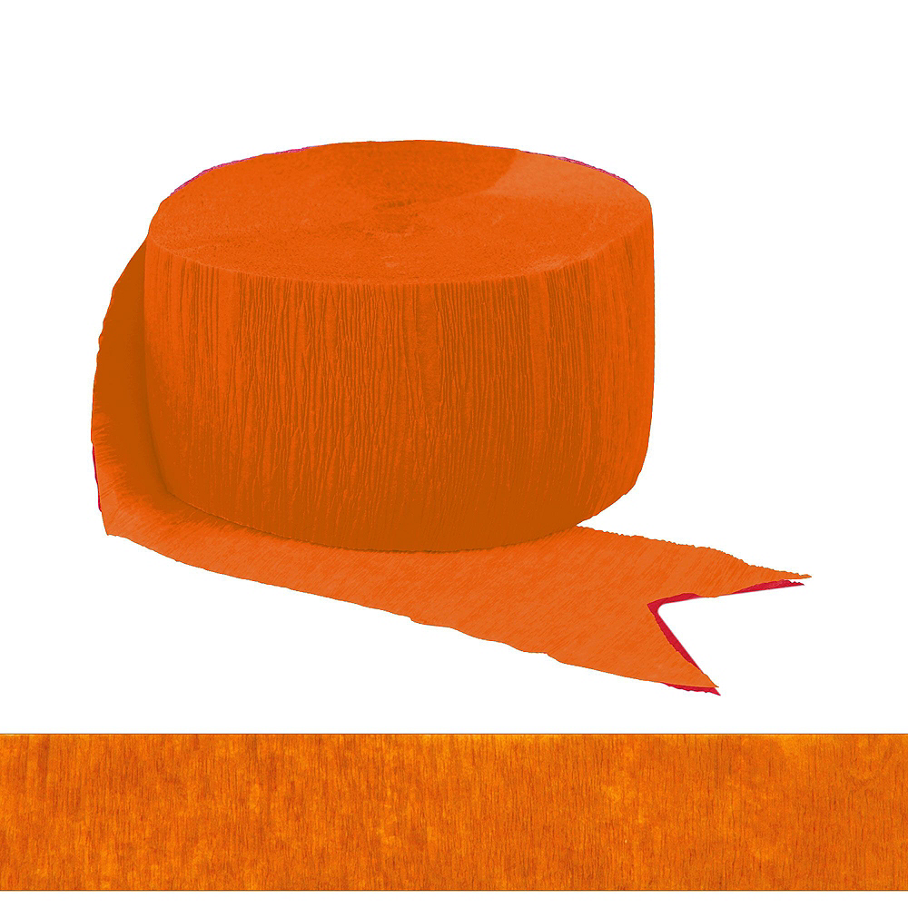 Congrats Grad Orange Graduation Deluxe Decorating Kit with Balloons Image #6