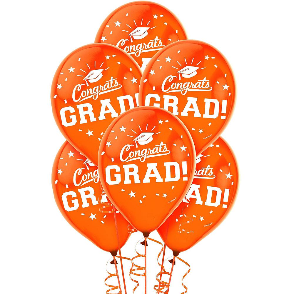 Congrats Grad Orange Graduation Outdoor Decorations Kit Image #5