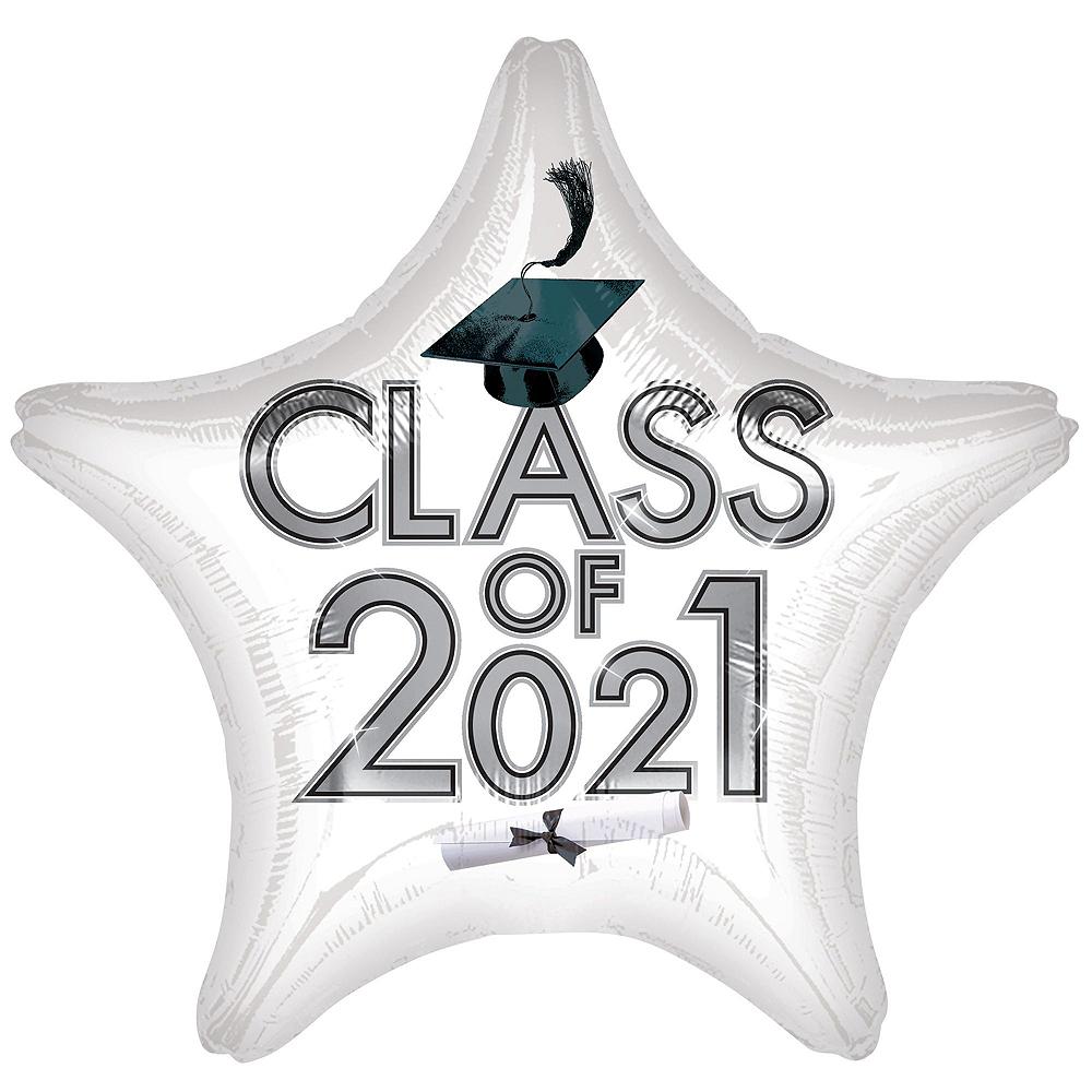 Congrats Grad Green Graduation Outdoor Decorations Kit Image #5