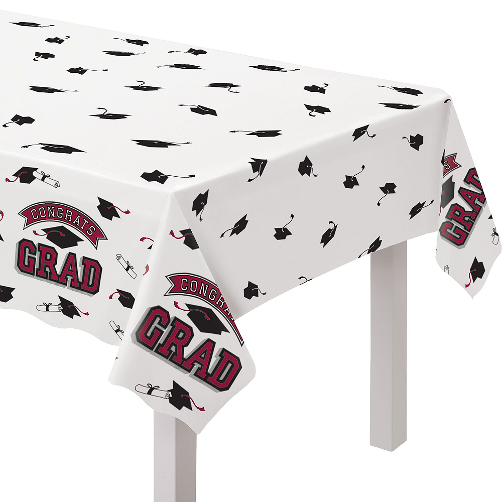 Super Congrats Grad Berry Graduation Party Kit for 54 Guests Image #9