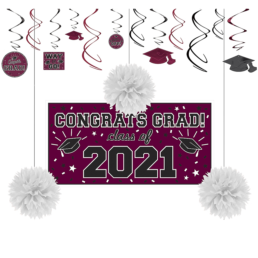 Congrats Grad Berry Graduation Decorating Kit Image #1