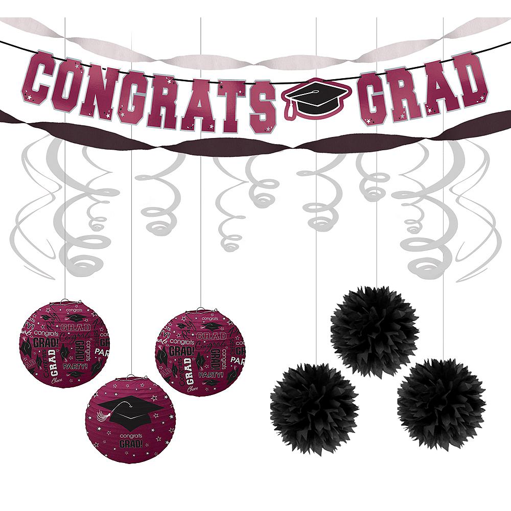 Congrats Grad Berry Graduation Hanging Decorations Kit Image #1
