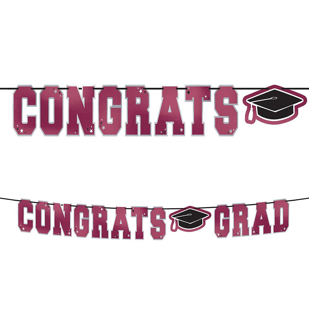 Congrats Grad Berry Graduation Hanging Decorations Kit Image #2