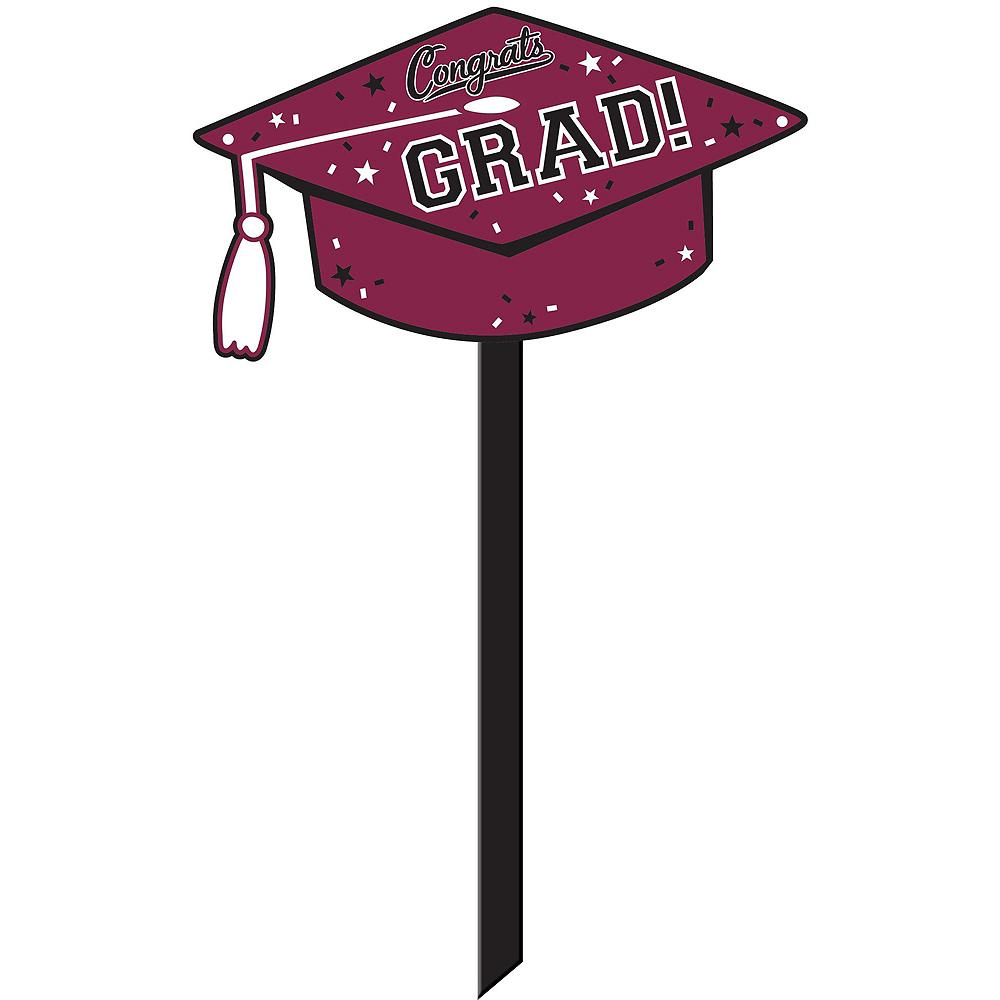 Congrats Grad Berry Graduation Outdoor Decorations Kit Image #3