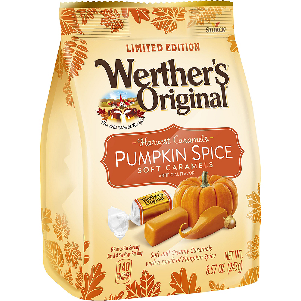 Werther's Original Pumpkin Spice Soft Caramel Candies 42ct Image #1