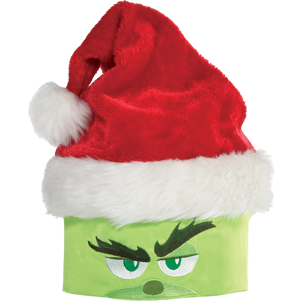 The Grinch Santa Hat | Party City