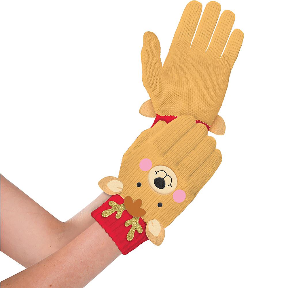 Child Reindeer Gloves Image #1