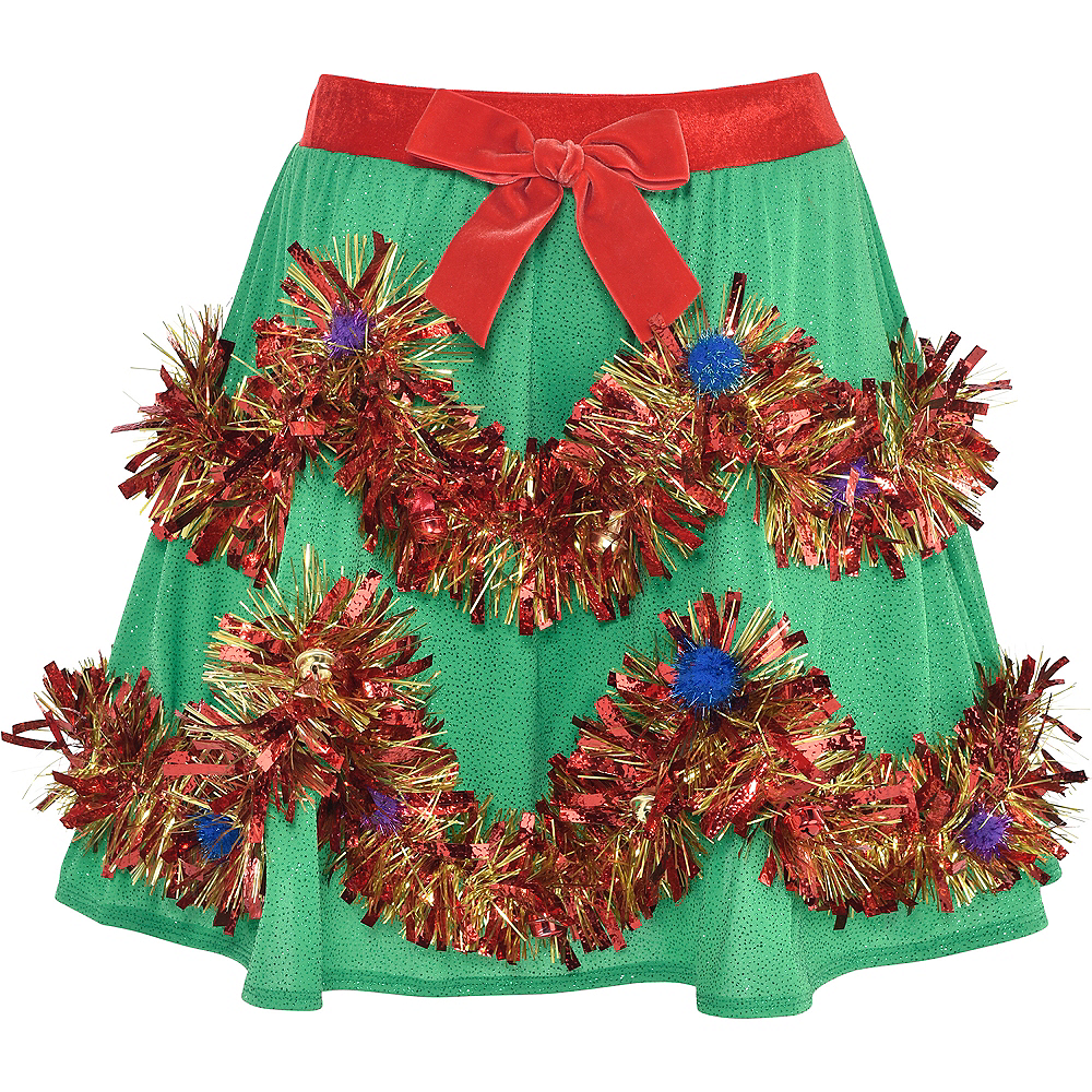 Tinsel Christmas Skirt Image #2