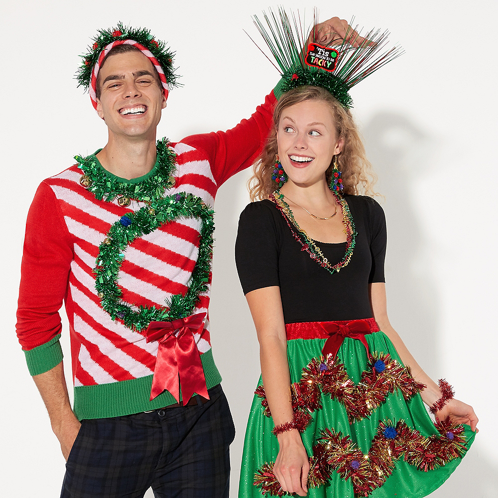 Tinsel Christmas Skirt Image #3