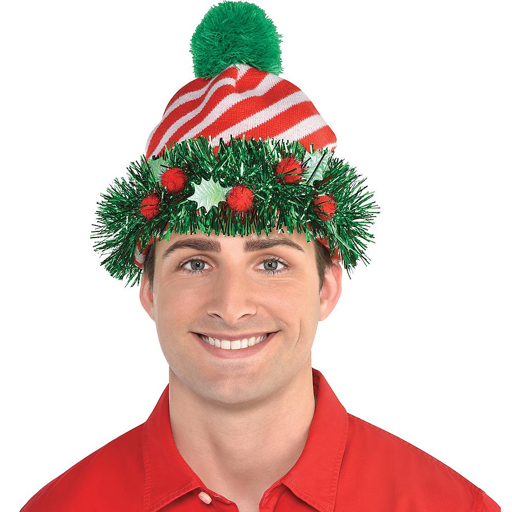 Tinsel Wreath Beanie Image #1