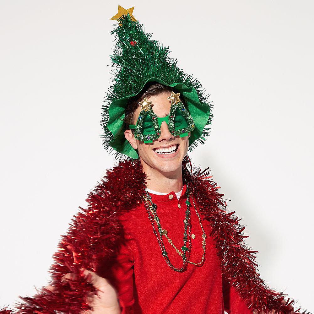 Tinsel Christmas Tree Sunglasses Image #2