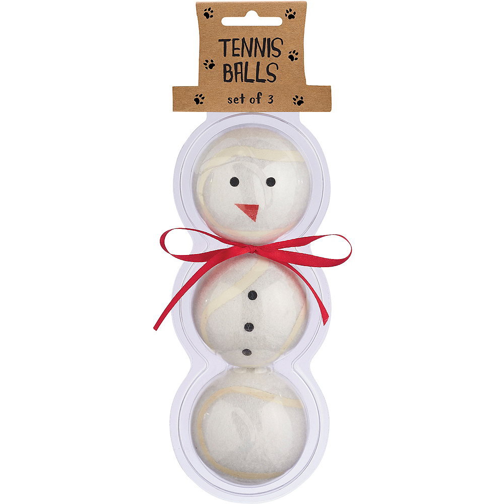 Nav Item for Snowman Tennis Balls 3ct Image #2