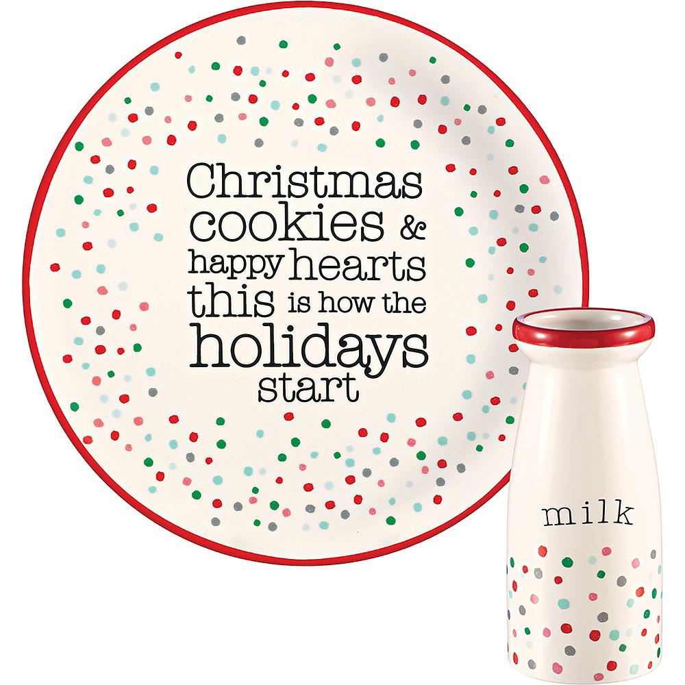 Milk & Cookies Tableware Set 2pc Image #1