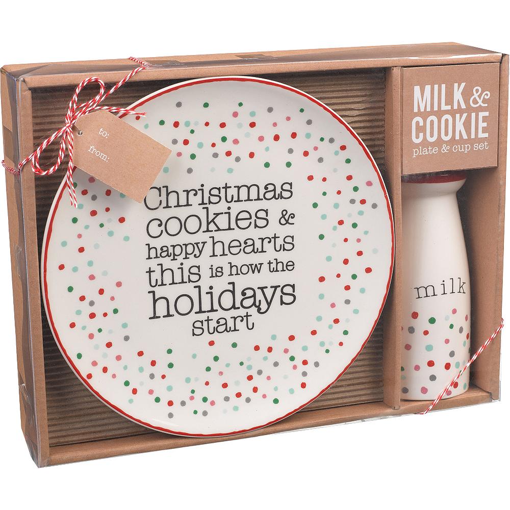 Milk & Cookies Tableware Set 2pc Image #2