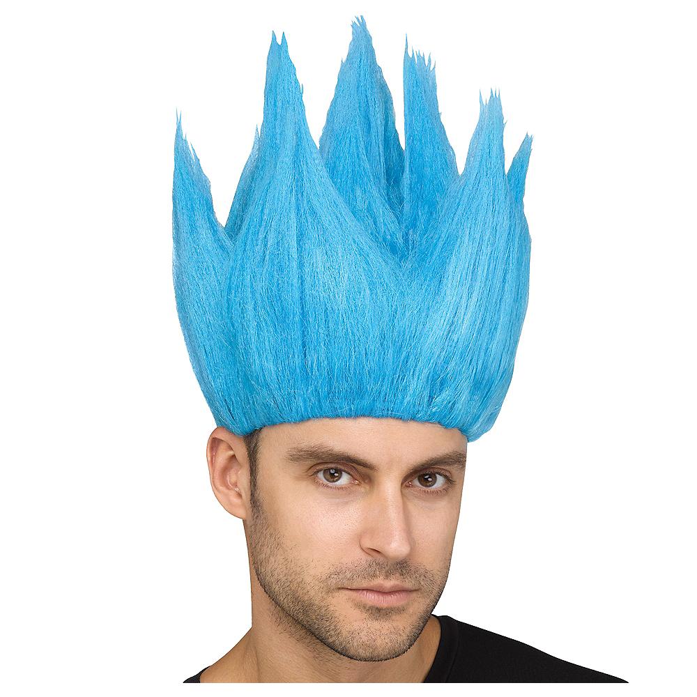 Blue Anime Wig Image #1