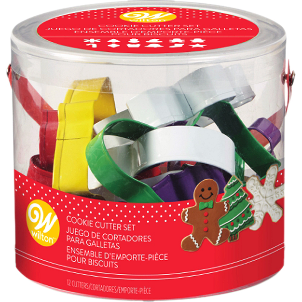 Wilton Holiday Cookie Cutters 12pc Image #2