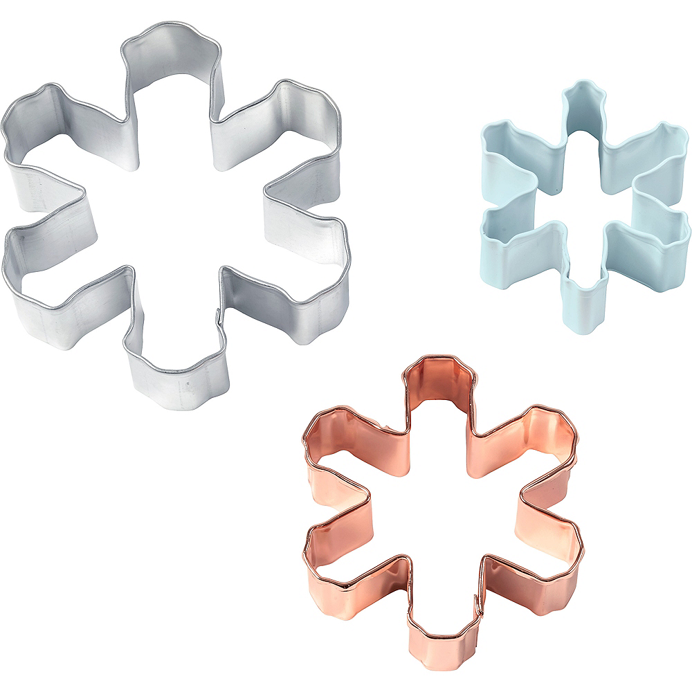 Wilton Snowflake Cookie Cutters 3pc Image #1