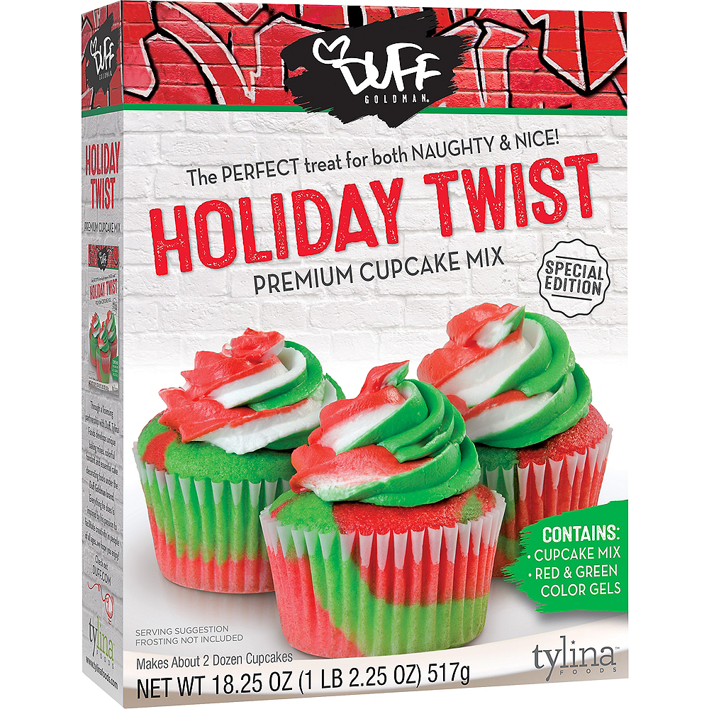 Duff Goldman Holiday Twist Cupcake Mix Image #1