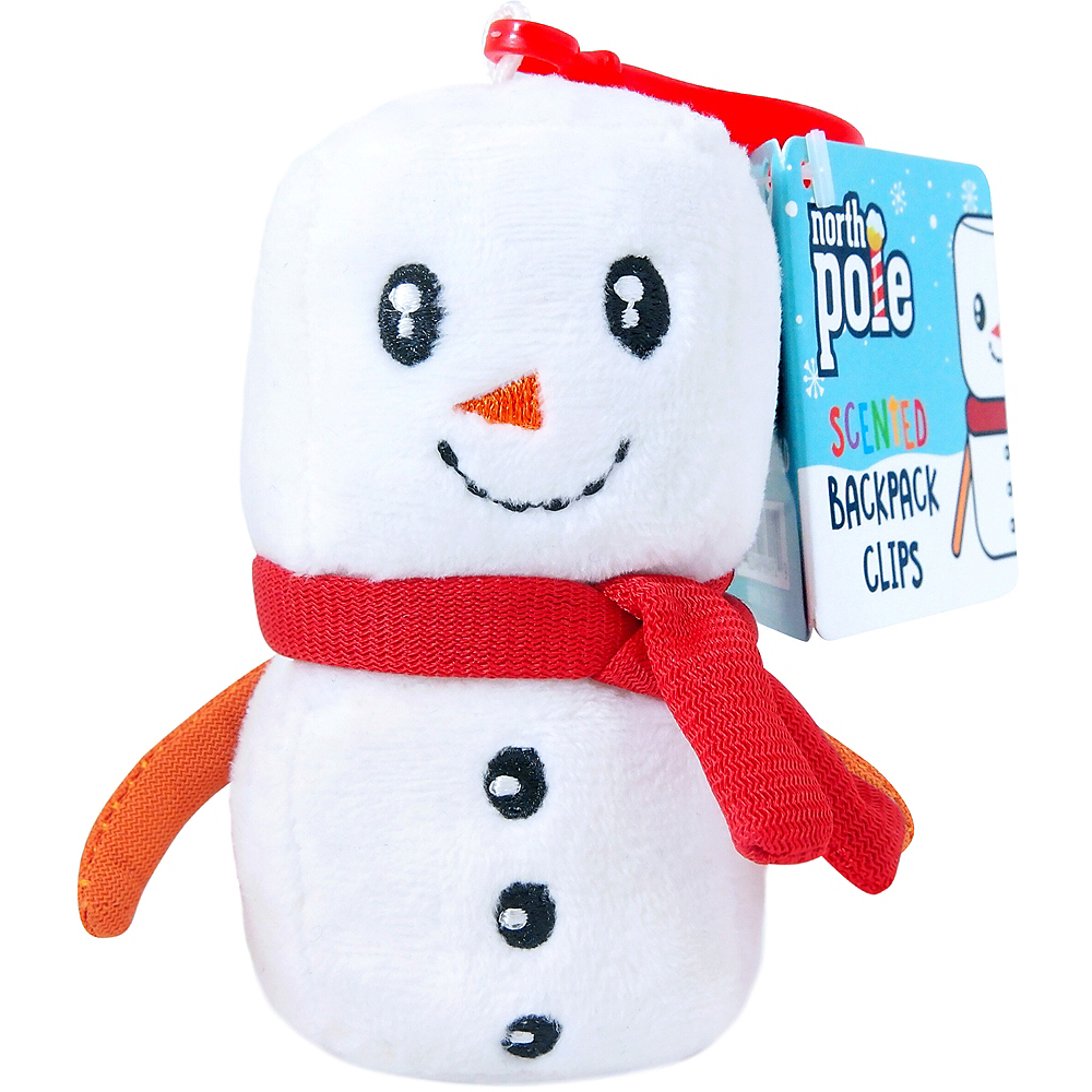 Clip-On Marshmallow-Scented Backpack Buddies Plush Image #1