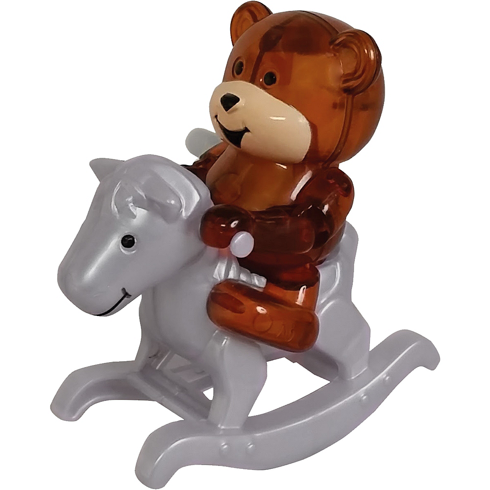 Ricky the Teddy Wind-Up Rocking Horse Image #1