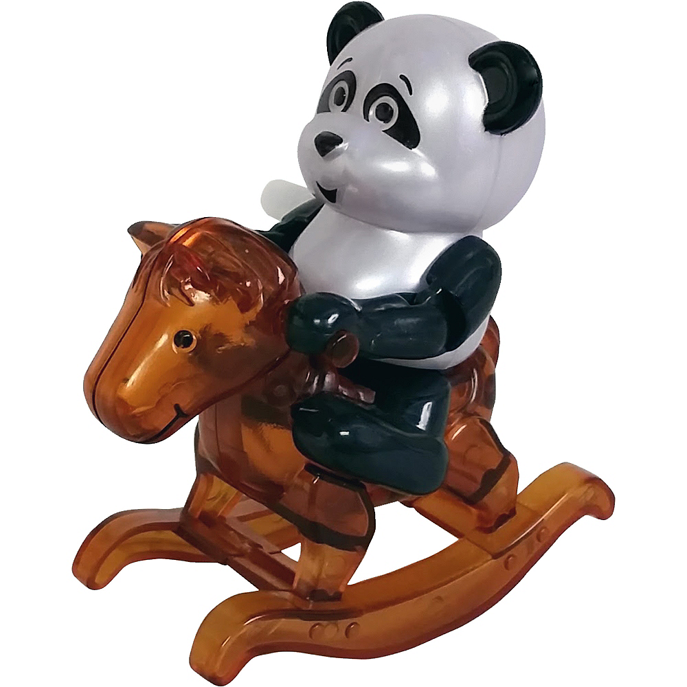 Rosalee the Panda Wind-Up Rocking Horse Image #1
