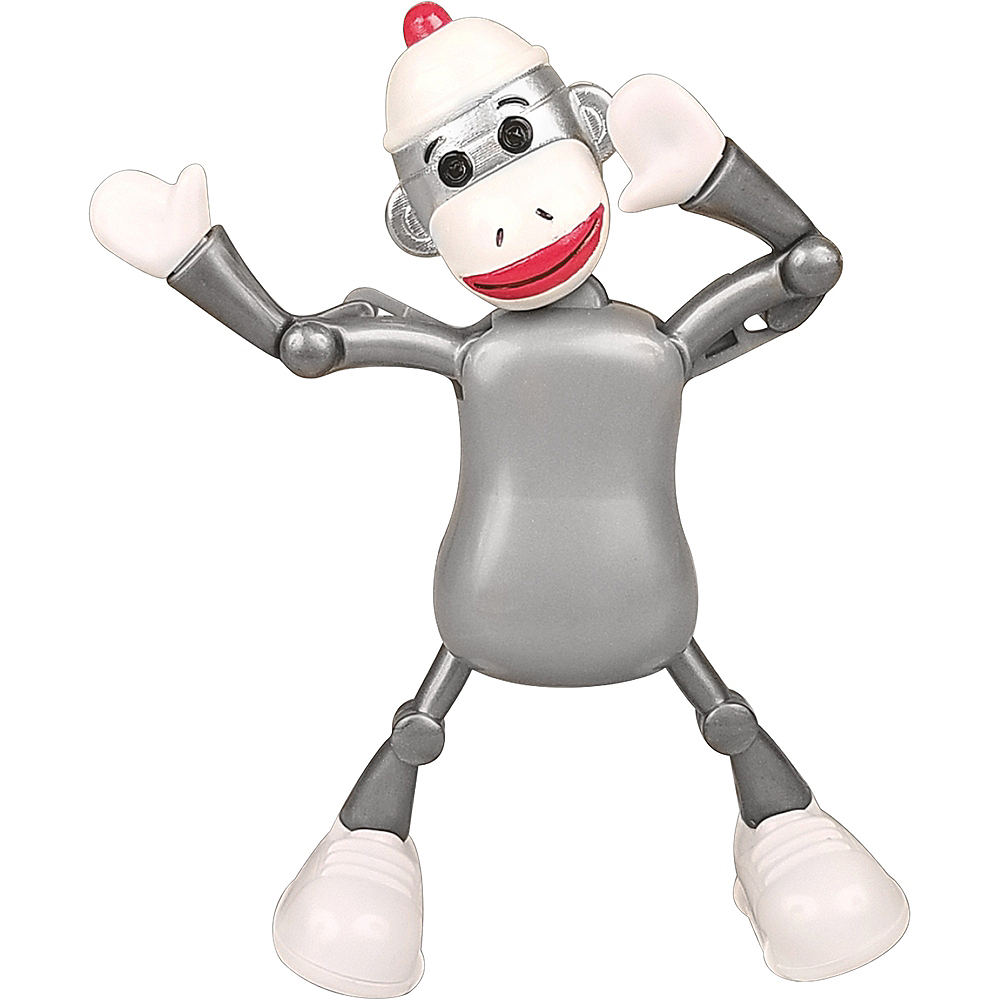 Stevie the Sock Monkey Wind-Up Toy Image #1