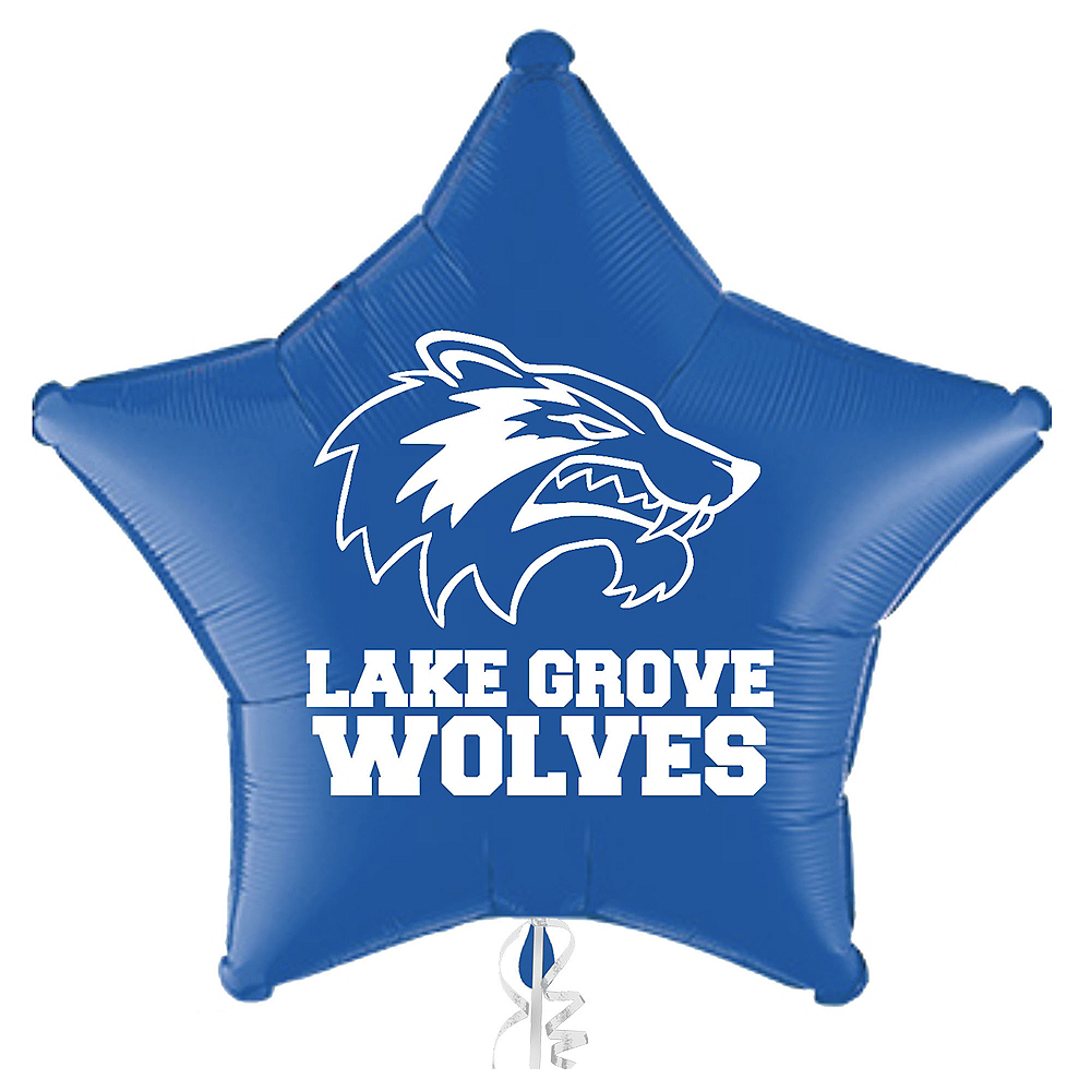 Personalized Graduation Star Balloon    Image #1