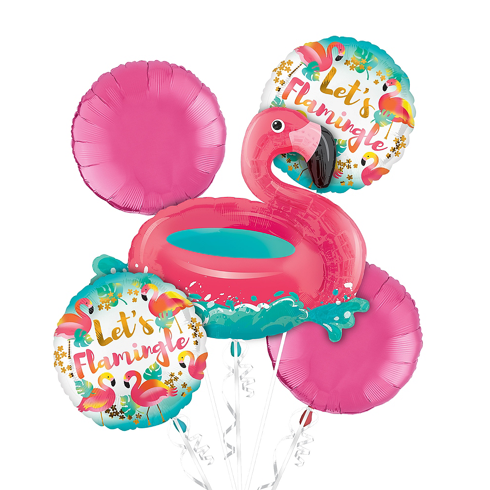 Flamingo Balloon Kit Image #1