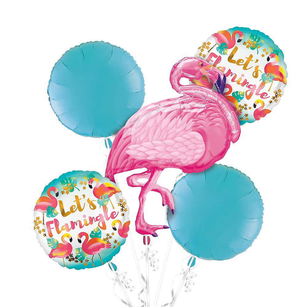 Pink Flamingo Balloon Kit Image #1
