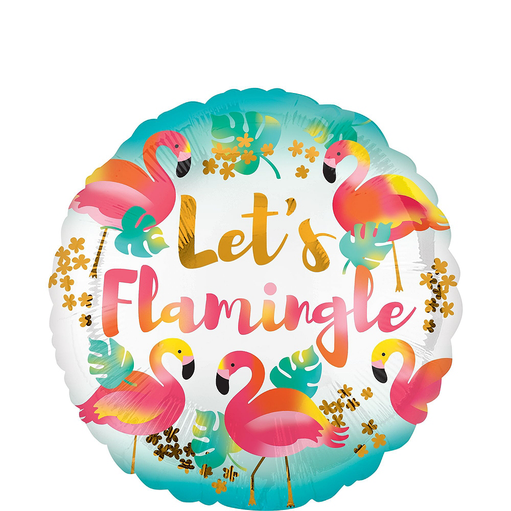 Pink Flamingo Balloon Kit Image #2