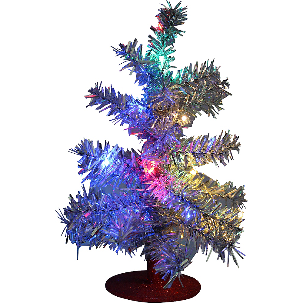 Light-Up Mini LED Christmas Tree Image #1