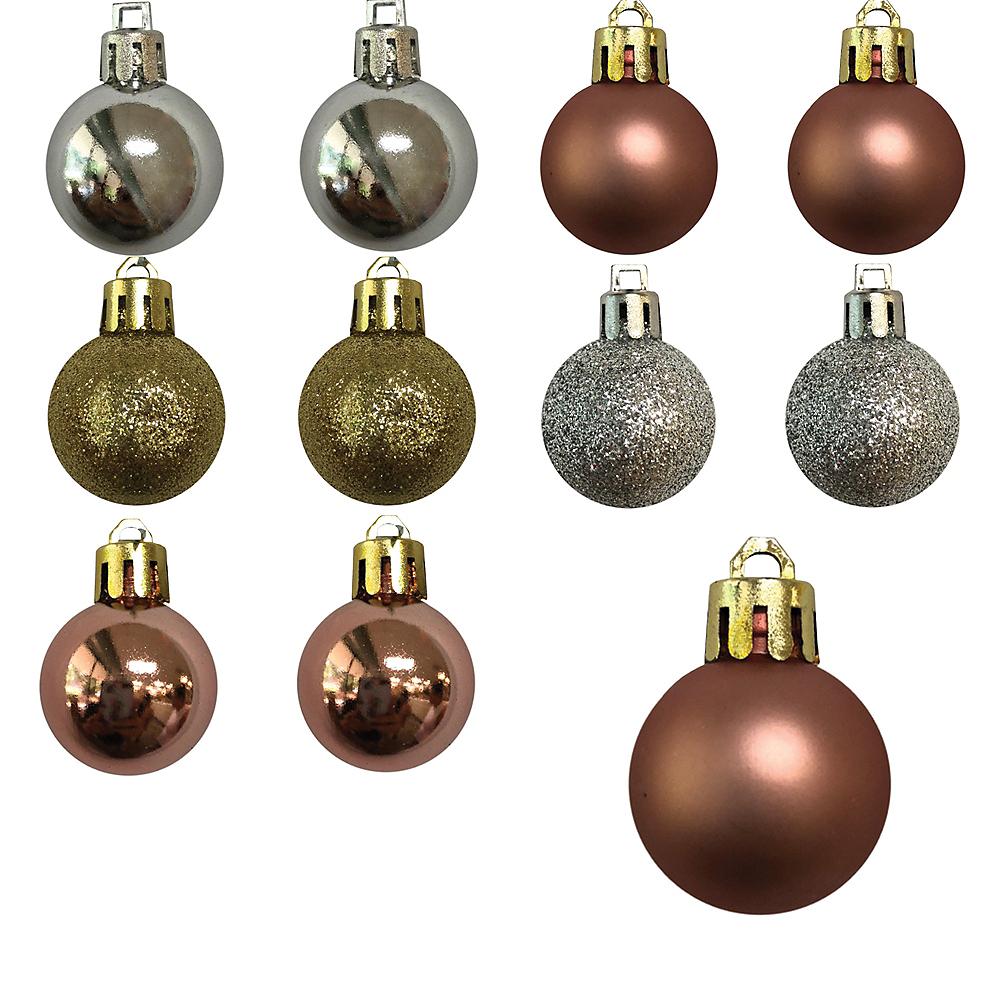 Mixed Metals Ornaments 25ct Image #1