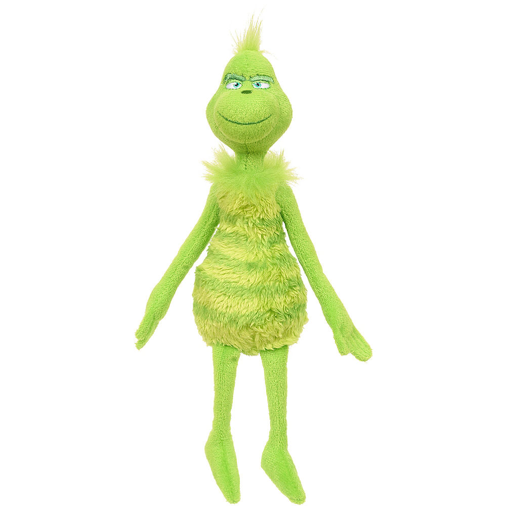 The Grinch Plush 3in x 7 1/2in | Party City