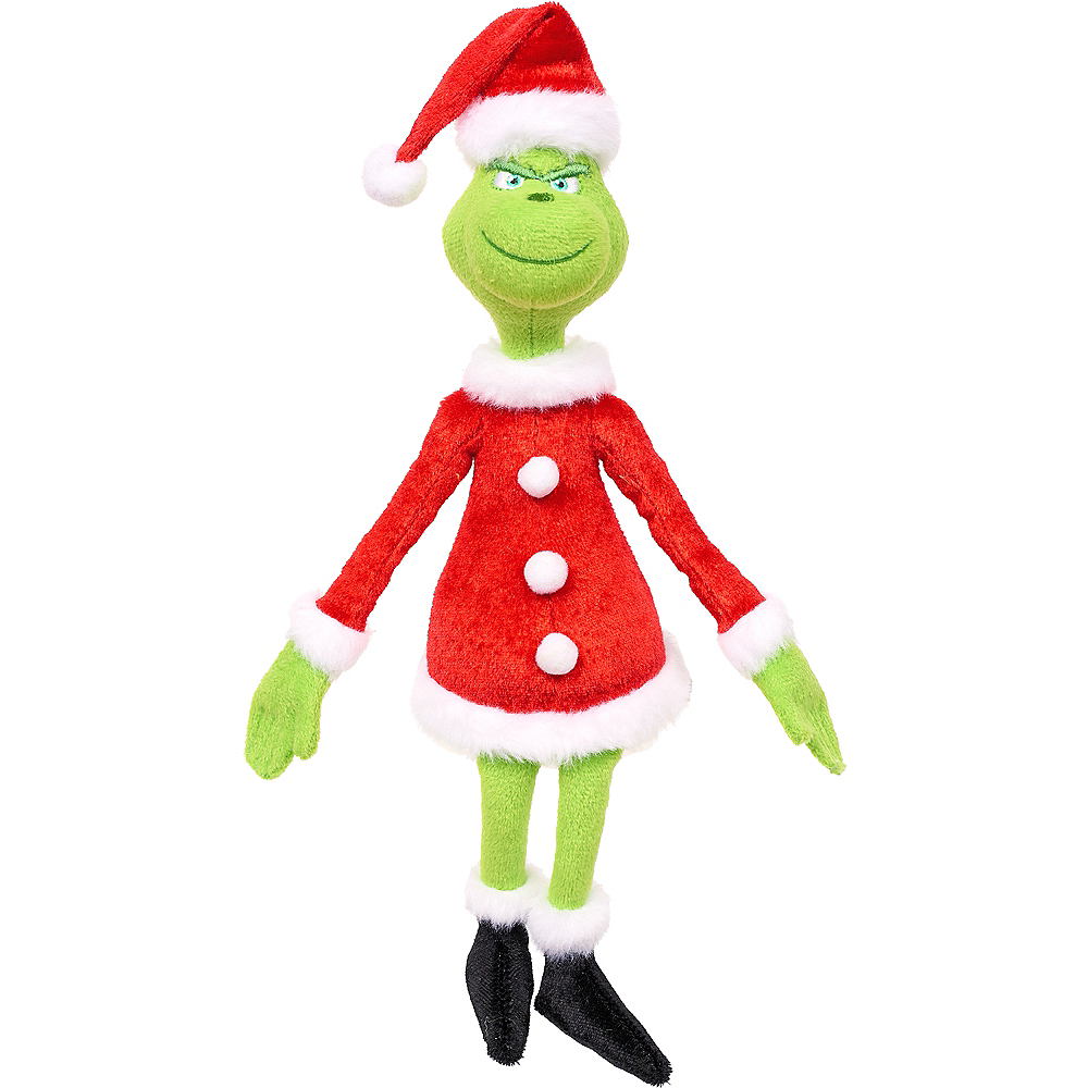 90ef468536bb Santa Grinch Plush 3in x 12in | Party City