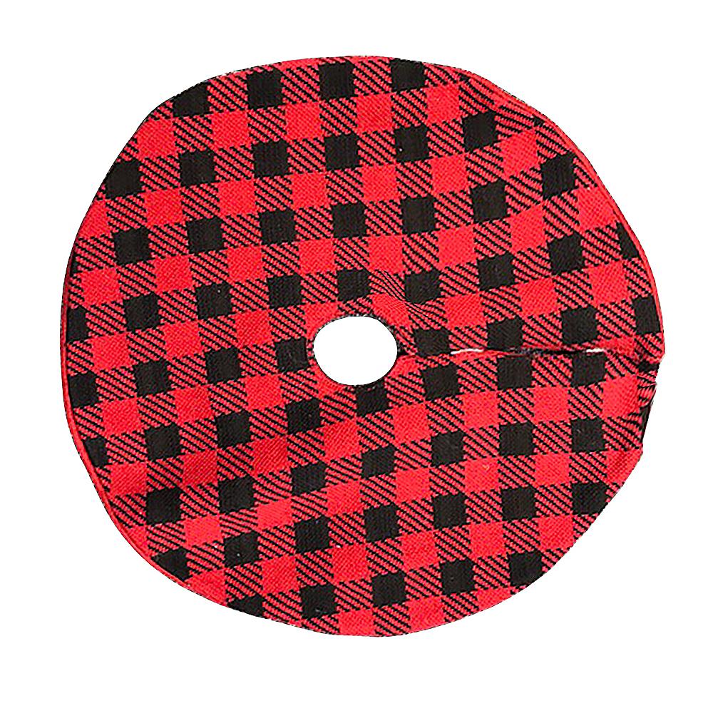 Buffalo Plaid Tree Skirt Image #1