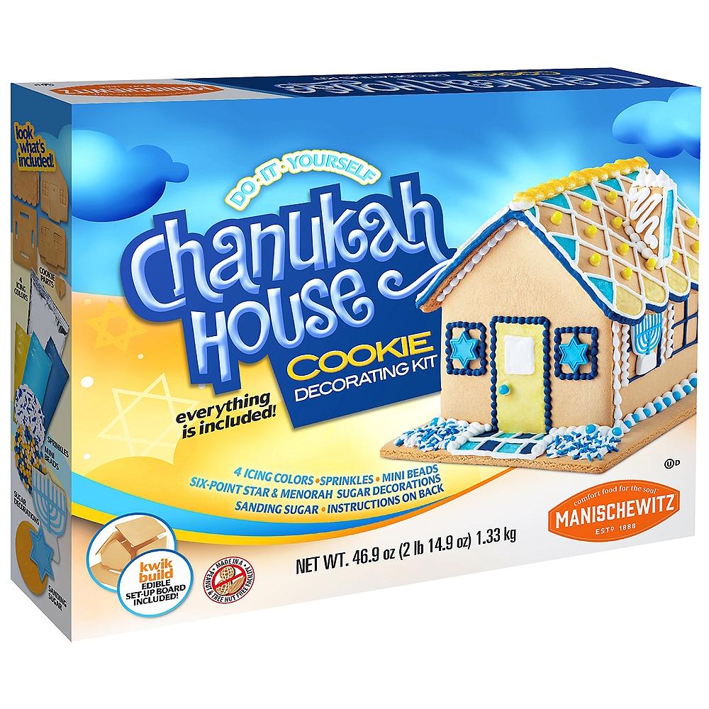 Chanukah House Vanilla Cookie Decorating Kit Image #1